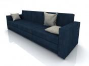 Canapé minimalisme 2700h800h800mm