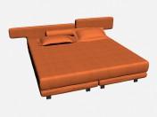 Кровать двуспальная WING LINE