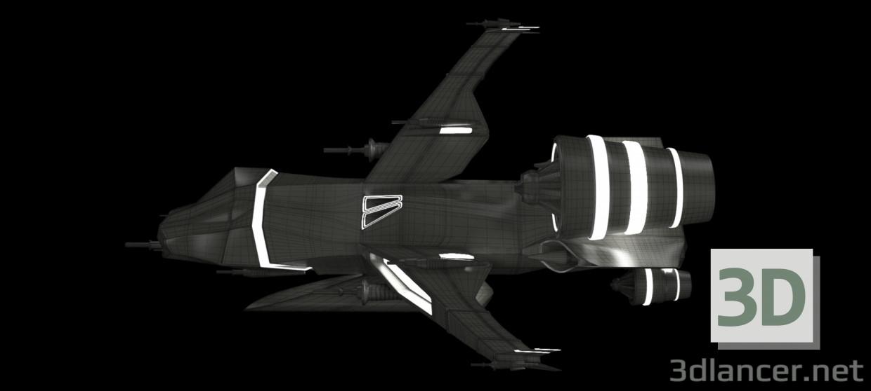 3d Spacecraft model buy - render
