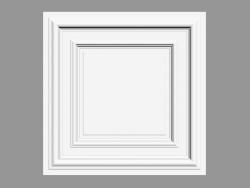 Ceiling decoration F30 (59.5 x 59.5 x 4.3 cm)
