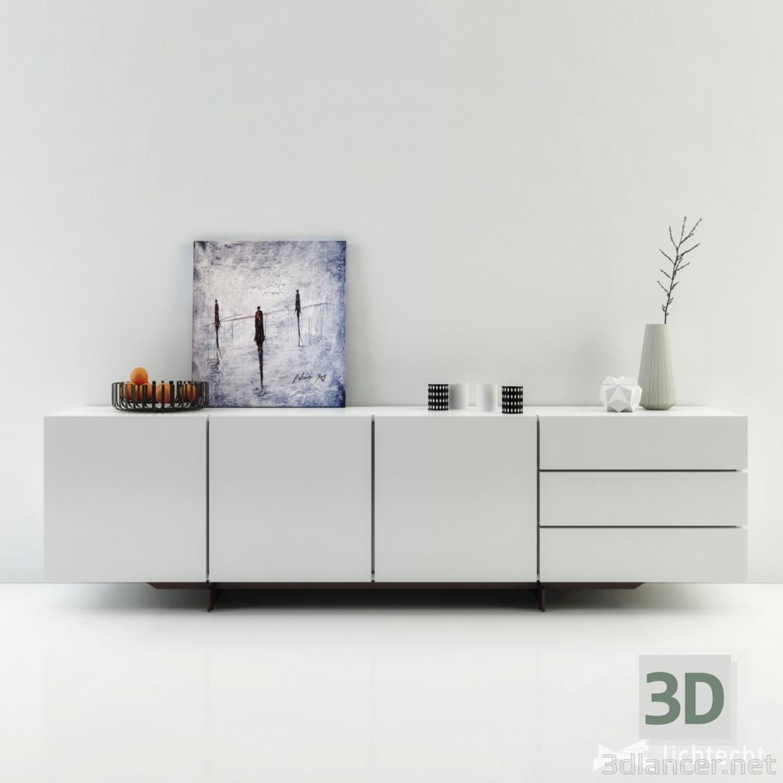 3d model Poliform pandora - preview