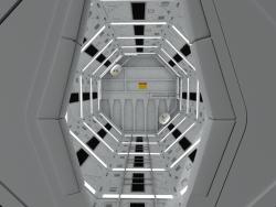 2001: un corredor de naves espaciales