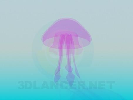 3d модель Медуза – превью