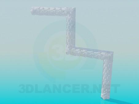 3d model Unidades de la esquina - vista previa