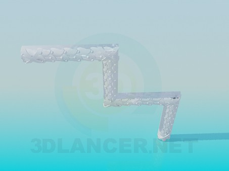 3d модель Угловой элемент – превью