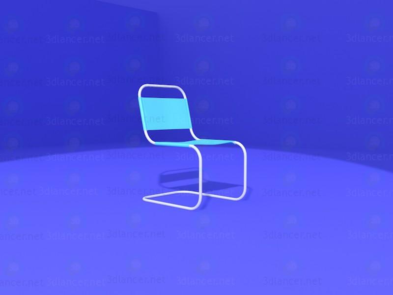 3d модель Офисный стул – превью