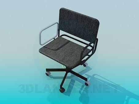 3d model Silla de oficina - vista previa