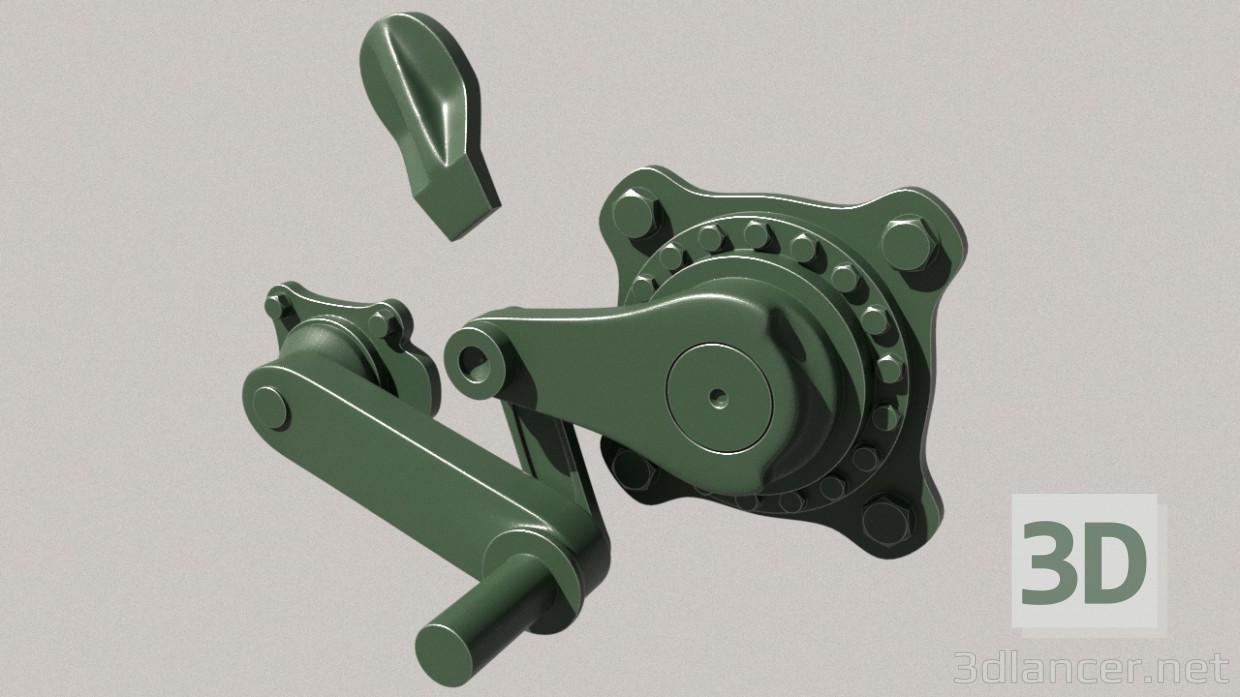 3d model Suspension of the t-72-80-90 - preview