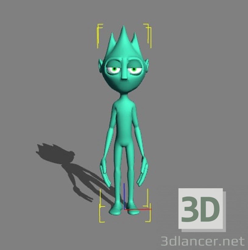 3d model Sergio - preview