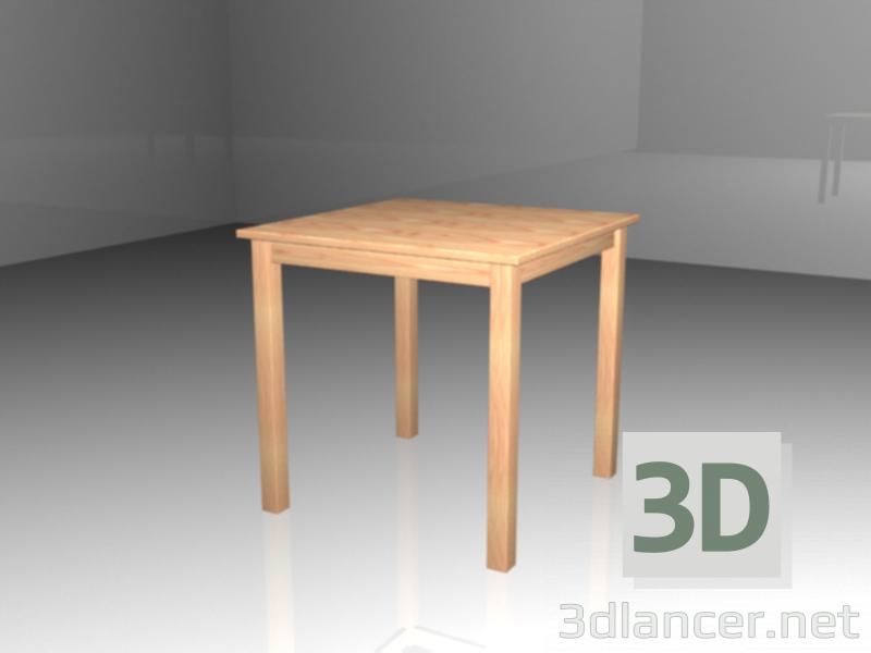 3d модель Стол Ингу маленький – превью