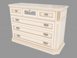 Chest of 6 drawers (1372h942h550)