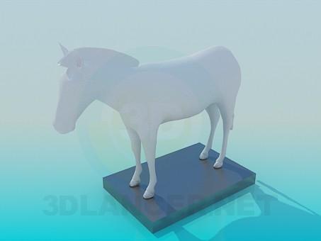 3d модель Статуя – превью