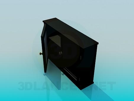 3d модель Комод на две секции – превью
