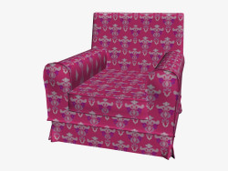 Vallsta Ektorp sandalye kırmızı