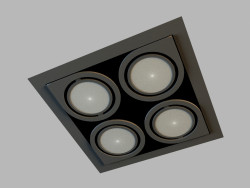 Ceiling recessed lamp 8148