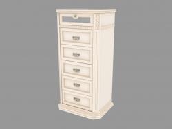 Dresser narrow on 6 boxes (676х1354х500)