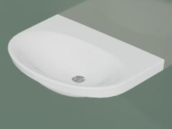 Lavabo de salle de bain Nautic 5570 (55709901, 70 cm)
