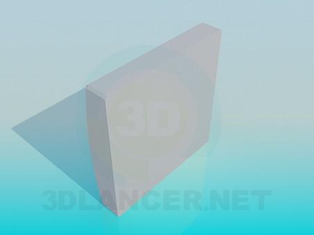 3d модель Розетка – превью