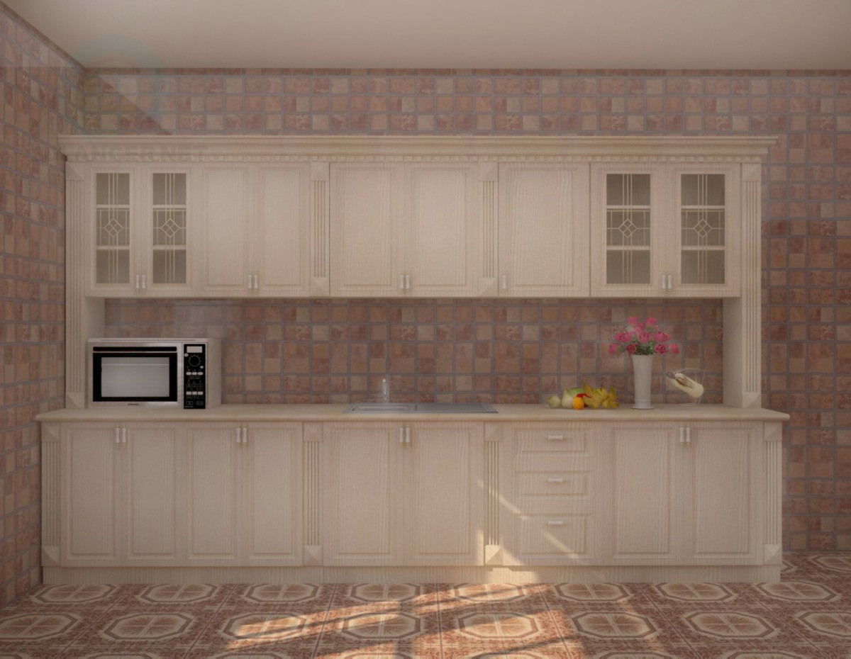 3d model kitchen in the style of classicism id 10397 for Model kitchen images