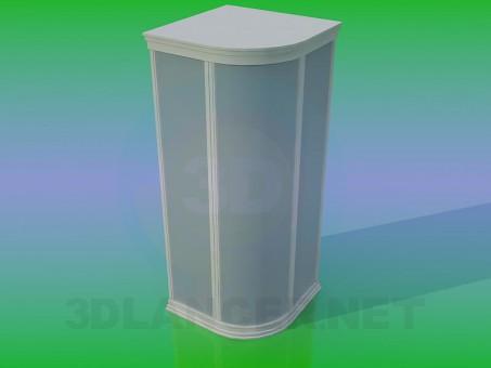 3d modeling Shower cabin model free download
