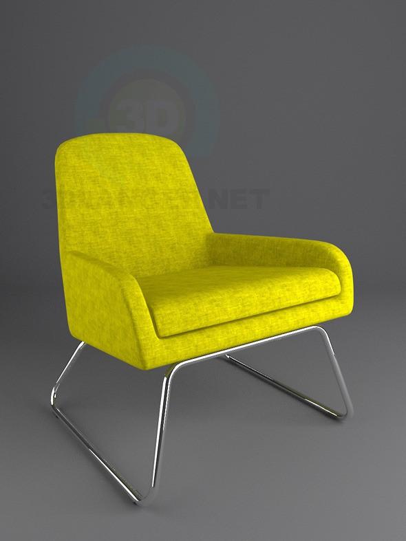 3d модель Крісло для – превью