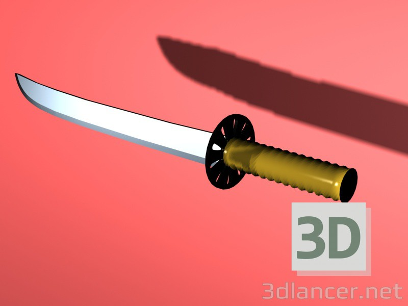 3d modeling weapon model free download