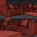 3d Shanghai Sofa Poliform model buy - render