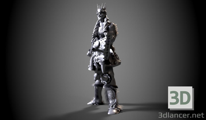 3 डी राजा मॉडल खरीद - रेंडर