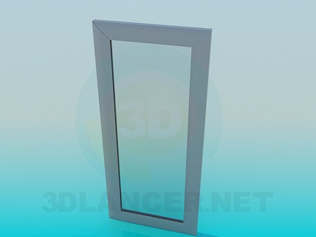 3d model A part of the window - preview
