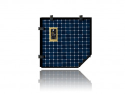 Solarraumschiff Batterie