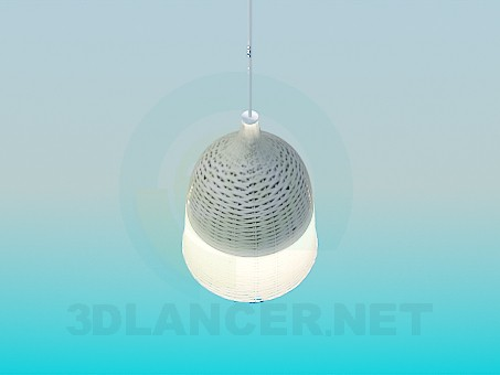 3d modeling Lamp with a lampshade model free download