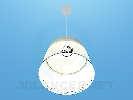 3d model Lamp with a lampshade - preview