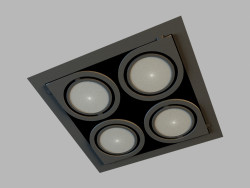 Ceiling recessed lamp 8153