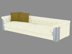 Sofá de cuatro plazas de cuero Mythos (320х115х70)