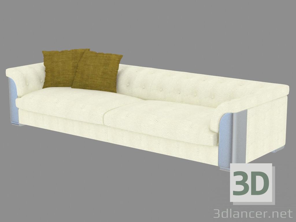 3d modeling Sofa four-seater leather Mythos (320х115х70) model free download