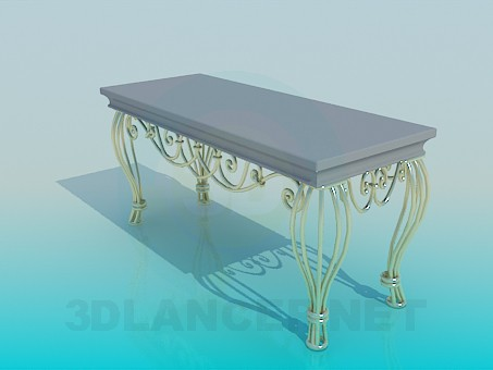 3d model Bench Interiors - preview
