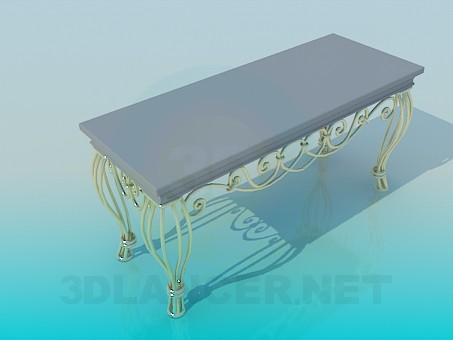 modelo 3D Interior de Banco - escuchar