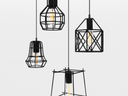 Cage Pendant Lights 1