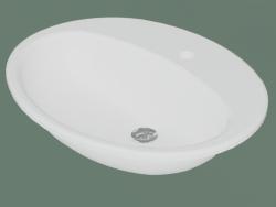 7G28 60 lavabo da incasso ovale (7G286001, 60,5 cm)