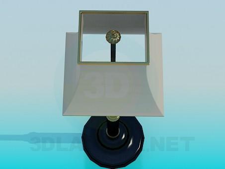 modelo 3D Lámpara de pie - escuchar
