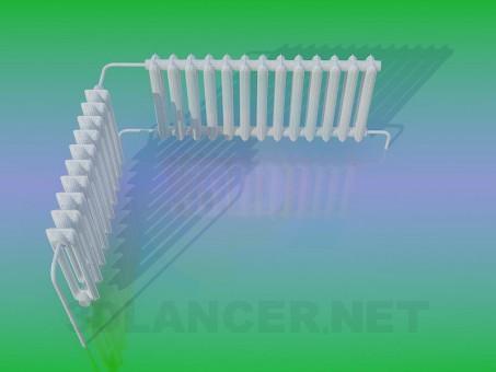 3d model Radiador - vista previa