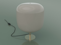 Table lamp Caminia (Pink opal glass lampshade)