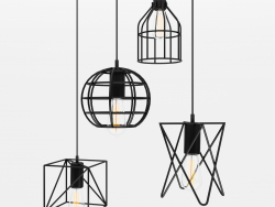 Cage pendant lights 2