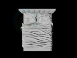 wrinkled bed