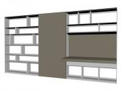 Sistema de mobiliario (rack) FC0915