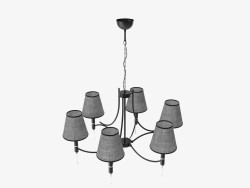 Chandelier Black Abil 22966