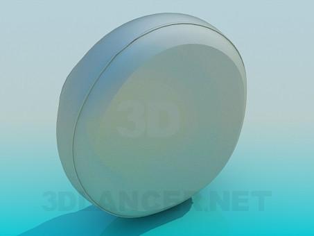 modelo 3D Cojín del asiento - escuchar