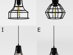 Cage pendant lights 3