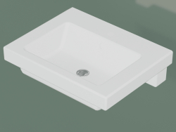 Lavabo Artic 4601 da incasso (GB114601R101, 60 cm)
