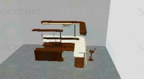 3d модель бар – превью